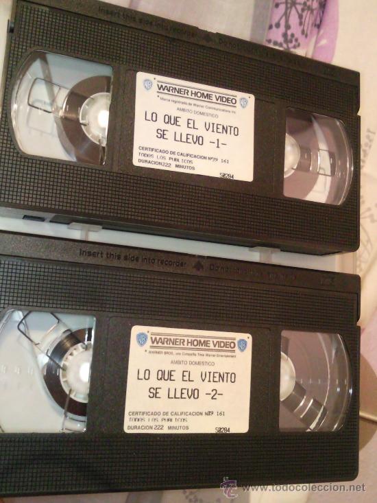 Cine: LO QUE EL VIENTO SE LLEVO en VHS. EDICION COLECCIONISTA. - Foto 2 - 28552934