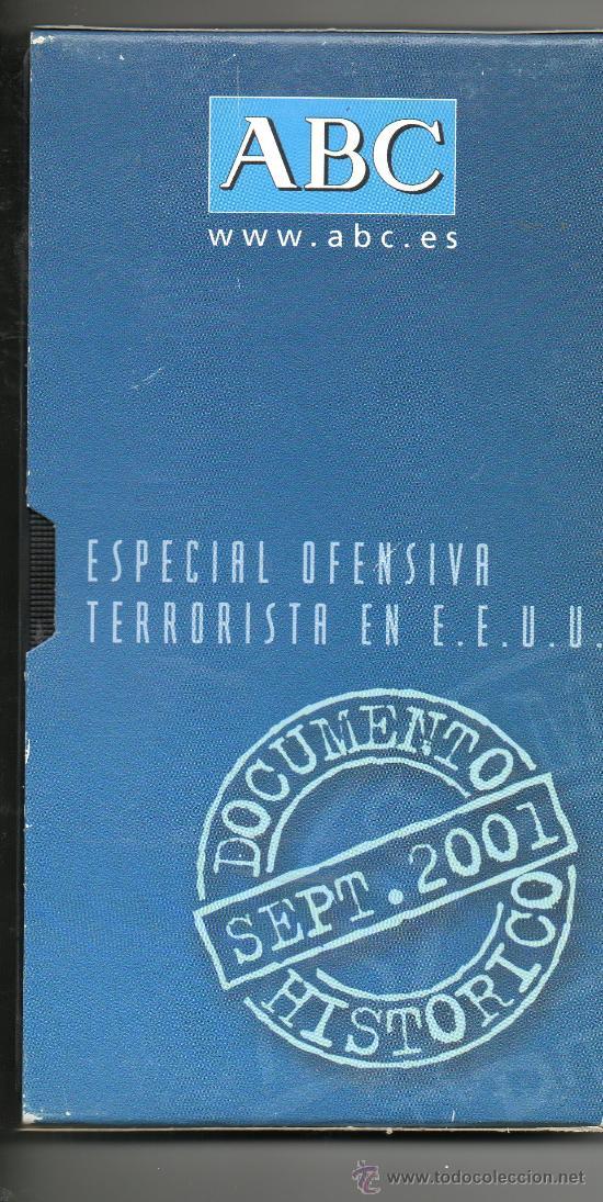 ESPECIAL OFENSIVA TERRORISTA EN E.E . U.U . SEPT. 2001 . DOCUMNTO HISTÓRICO . VHS (Cine - Películas - VHS)