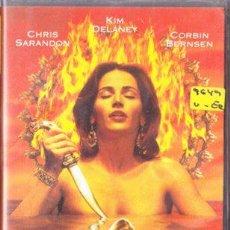 Cine: TEMPTRESS - PLAYBOY - CHRIS SARANDON - VHS. Lote 28604122