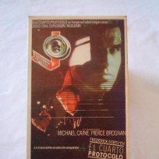 Cine: EL CUARTO PROTOCOLO. MICHAEL CAINE Y PIERCE BROSNAN.. Lote 28763433