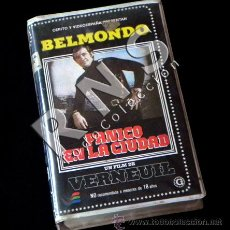 Cine: VHS PÁNICO EN LA CIUDAD - JEAN-PAUL BELMONDO VERNEUIL PELÍCULA ACCIÓN ASESINO EN SERIE PARÍS CRIMEN. Lote 28822770