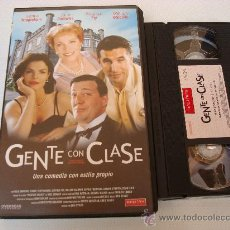 Cine: GENTE CON CLASE - VHS. 209. Lote 28858800