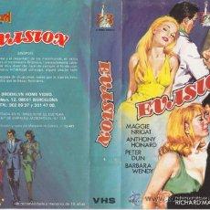 Cine: EVASION • VHS VIDEO. Lote 29011861
