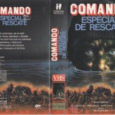 Cine: COMANDO ESPECIAL DE RESCATE • VIDEO VHS. Lote 29322641