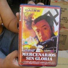 Cine: MERCENARIOS SIN GLORIA, MICHAEL CAINE-VHS. Lote 29016197