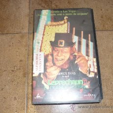 Cine: PELICULA VHS LEPRECHAUN EL DUENDE ASESINO 90`APROX 1995 . Lote 29085890