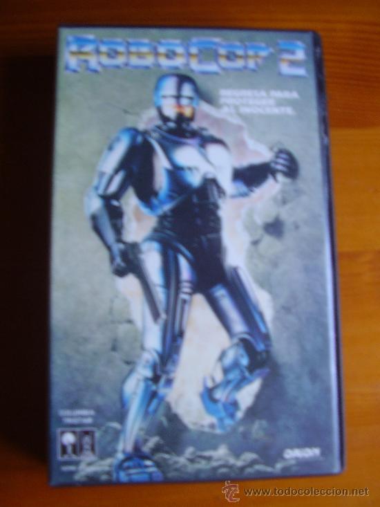 VHS ROBOCOP 2 (1990) DE IRVIN KERSHNER. CON PETER WELLER. ¡NUEVA! (Cine - Películas - VHS)