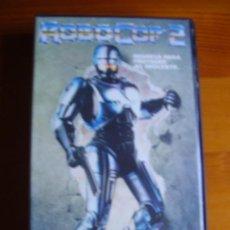 Cine: VHS ROBOCOP 2 (1990) DE IRVIN KERSHNER. CON PETER WELLER. ¡NUEVA!. Lote 29278355