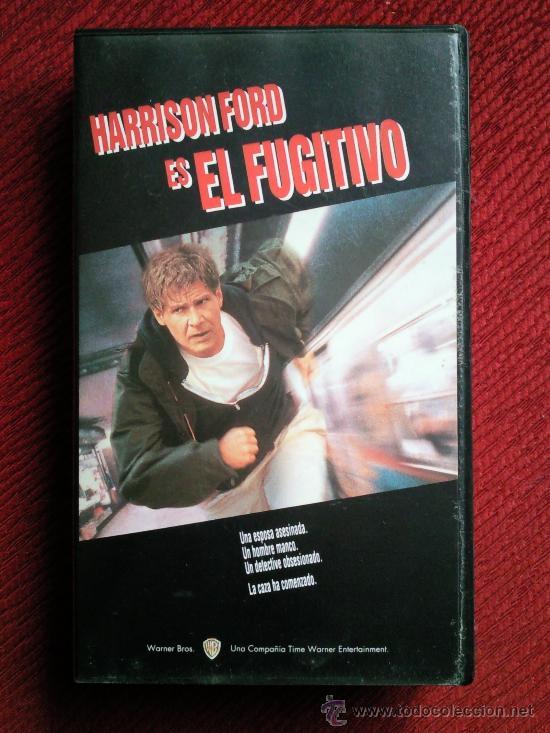 EL FUGITIVO. VHS. HARRISON FORD (Cine - Películas - VHS)
