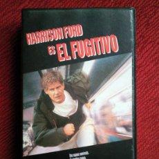 Cine: EL FUGITIVO. VHS. HARRISON FORD. Lote 29372143