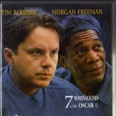 Cine: VHS - CADENA PERPETUA - TIM ROBBINS, MORGAN FREEMAN.... Lote 29618066