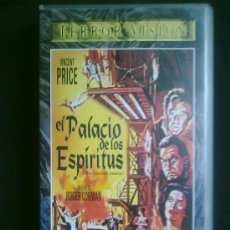 Cine: EL PALACIO DE LOS ESPIRITUS. ROGER CORMAN. VINCENT PRICE. ALLAN POE. VHS UN SOLO VISIONADO. Lote 29682445