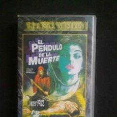Cine: EL PENDULO DE LA MUERTE. ROGER CORMAN. CON VINCENT PRICE. VHS UN SOLO VISIONADO. Lote 29682488