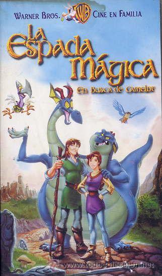LA ESPADA MAGICA - EN BUSCA DE CAMELOT (VHS) (Cine - Películas - VHS)