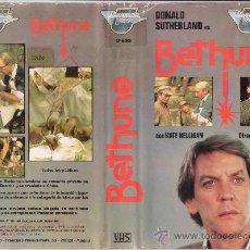 Cine: VHS BETHUNE - DONALD SUTHERLAND . Lote 29779010