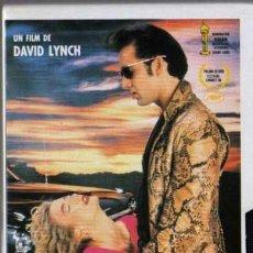 Cine: VHS - CORAZÓN SALVAJE - NICOLAS CAGE, LAURA DERN, DAVID LYNCH.... Lote 29780428