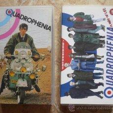 Cine: VHS - QUADROPHENIA (THE WHO, MODS, ROCKERS) LOTE DE 2 VHS. Lote 29810920