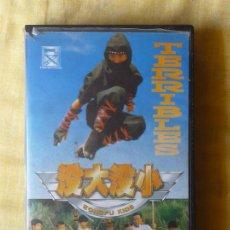 Cine: VHS - TERRIBLES KUNG FU KIDS - ARTES MARCIALES, KUNG FU, NINJAS. Lote 179159903