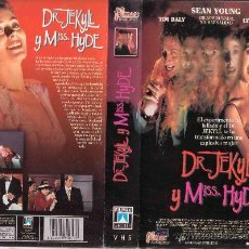 Cine: VHS DR JEKYLL Y MISS HYDE - SEAN YOUNG. Lote 29841145