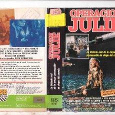 Cine: OPERACION JULIE / VHS. Lote 30006708