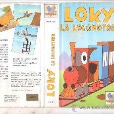 Cinema: LOKY LA LOCOMOTORA/DIBUJOS ANIMADOS /VHS. Lote 30212721