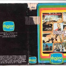 Cine: VHS - LA ISLA MISTERIOSA - 1973 - OMAR SHARIF, JUAN ANTONIO BARDEM / 1EDICION. Lote 30214420