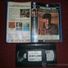 Cine: LOS BOINAS VERDES / VHS. Lote 30229195