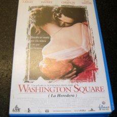 Cine: WASHINGTON SQUARE (LA HEREDERA) VHS. Lote 30293115