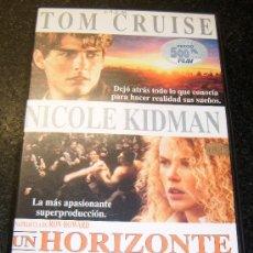 Cine: UN HORIZONTE MUY LEJANO CON TOM CRUISE Y NICOLE KIDMAN AÑO 1993. Lote 30294066
