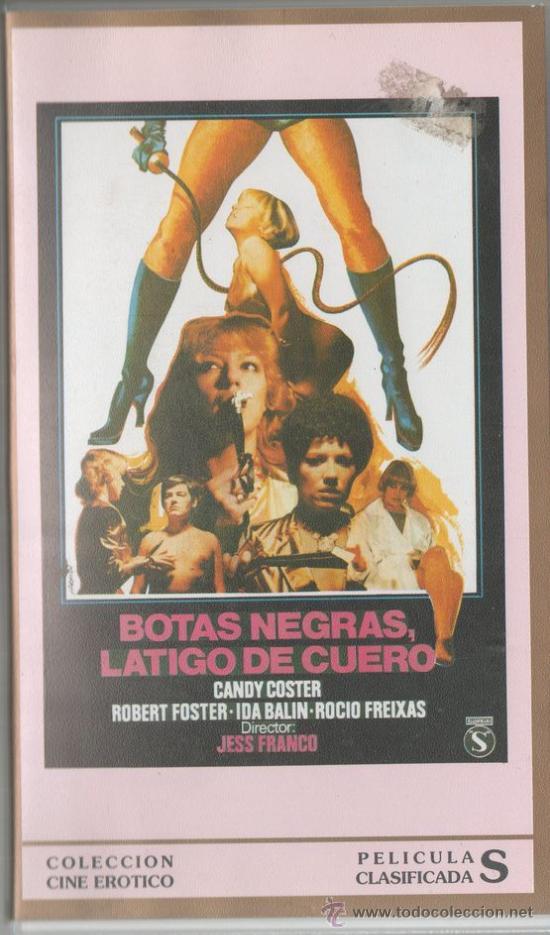Jesus Franco Botas Negras Latigo De Cuero 198 Sold Through Direct Sale 30316024