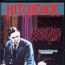 Cine: HITCHCOCK - ASESINATO (VHS). Lote 30321906