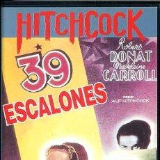 Cine: HITCHCOCK - 39 ESCALONES (VHS). Lote 30322012