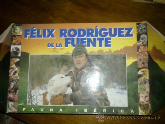 COLECCION FELIZ RODRIGUEZ DE LA FUENTE (Cine - Películas - VHS)