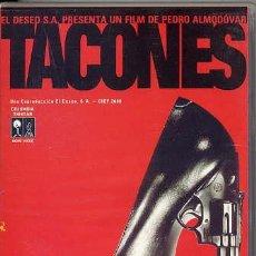 Cine: TACONES LEJANOS / PEDRO ALMODOVAR (VHS). Lote 30474616