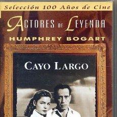 Cine: CAYO LARGO / HUMPHREY BOGART (VHS). Lote 30474749