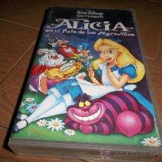 Cine: ALICIA EN EL PAIS DE LAS MARAVILLAS ORIGINAL VHS. Lote 30591972