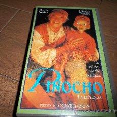 Cine: PINOCHO LA LEYENDA VHS ORIGINAL. Lote 30598255
