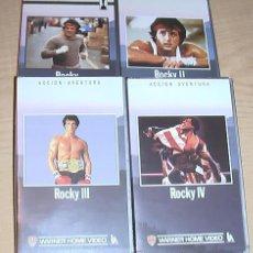 Cine: COLECCION ROCKY. VHS.. Lote 30601299