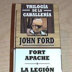 Cine: TRILOGIA DE LA CABALLERIA. JOHN FORD. VHS.. Lote 30601648