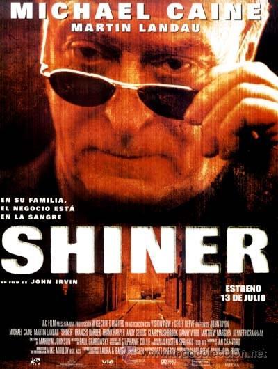 SHINER MICHAEL CAINE MARTIN LANDAU VHS (Cine - Películas - VHS)