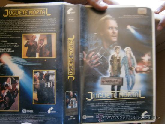 JUGUETE MORTAL-VHS (Cine - Películas - VHS)
