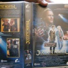 Cine: JUGUETE MORTAL-VHS. Lote 30765395