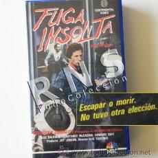 Cine: FUGA INSÓLITA - PELÍCULA SUSPENSE ROMÁNTICA - ALEC BALDWIN S ZIMBALIST - CÁRCEL PRISIÓN CINE VHS. Lote 30868935