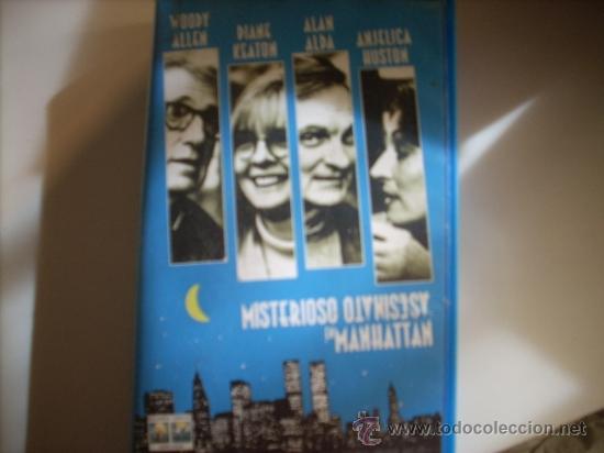 MISTERIOSO ASESINATO EN MANHATTAN WOODY ALLEN (Cine - Películas - VHS)