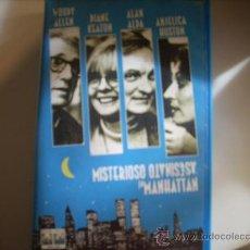 Cine: MISTERIOSO ASESINATO EN MANHATTAN WOODY ALLEN. Lote 30965663