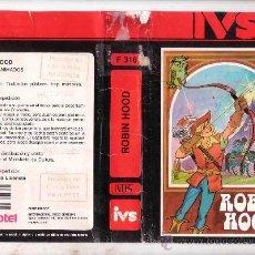 Cine: ROBIN HOOD /VHS DIBUJOS ANIMADOS RAREZA 1 EDICION. Lote 30936158