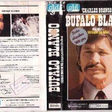 Cine: BUFALO BLANCO.CHARLES BRONSON-VHS. Lote 30937231