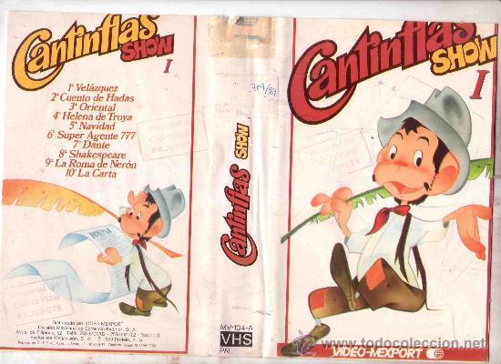CANTIFLAS / DIBUJOS ANIMADOS 1 EDICION VHS (Cine - Películas - VHS)