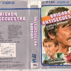 Cine: BRIGADA ANTISECUESTRO CHARLES BRONSON.VHS. Lote 30938067