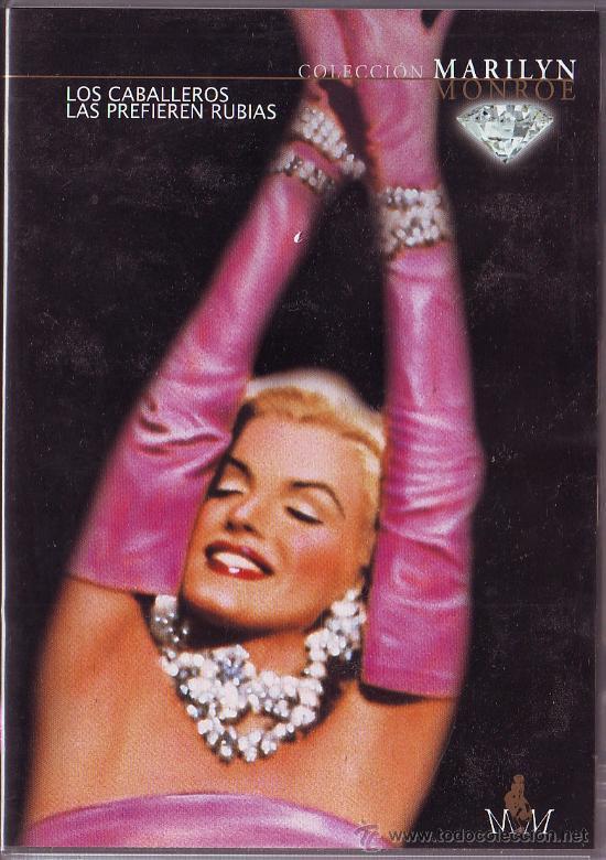 UXD LOS CABALLEROS LAS PREFIEREN RUBIAS DVD COMEDIA MUSICAL ROMANTICA MARELYN MONROE HAWKS RUSSELL (Cine - Películas - VHS)